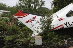 Miris avārijā cietušā lidaparāta pilots #1