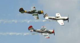Aviācijas svētkus apmeklēja vairāk nekā 3000 interesentu #1