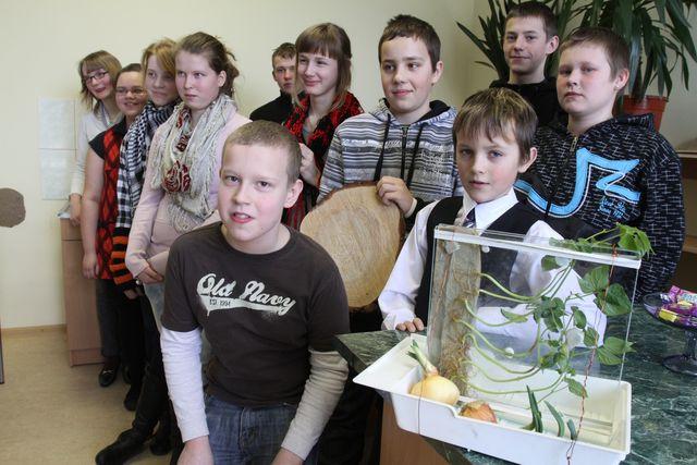 Vides pētnieku forums «Skolēni eksperimentē» Kandavā #1